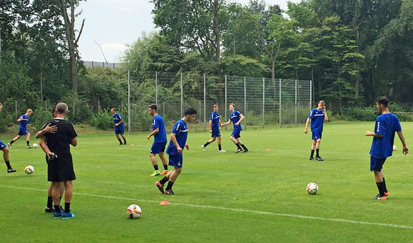 Fanclub finanziert Trainingslager