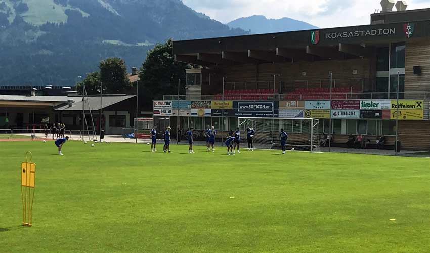 Trainingslager 2018 in St. Johann (Tirol)