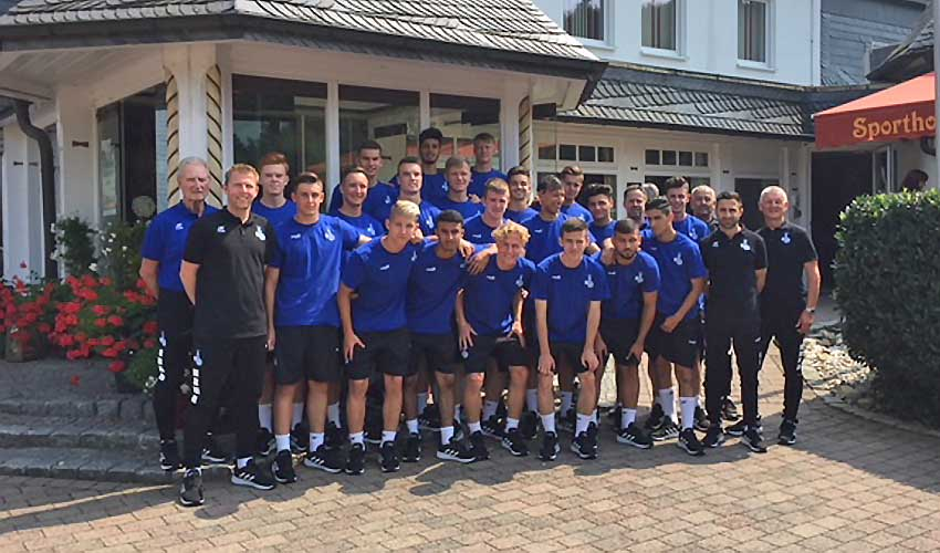MSV U19 im Trainingslager 2018